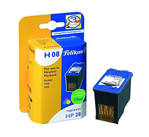 Pelikan 341495 – Cartucho de tinta HP DeskJet 3420 – HP28 – TRICOLOR