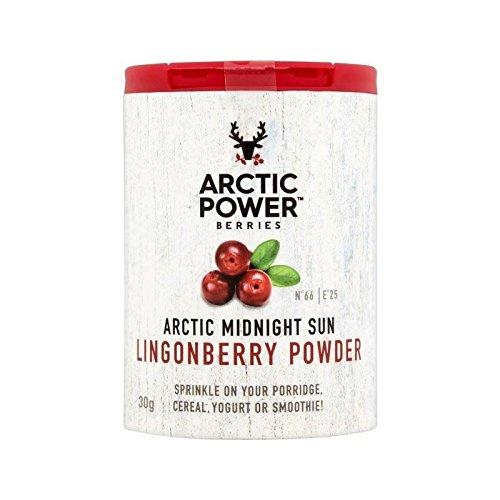 Artico Potere Bacche 100% Di Mirtilli Rossi Polvere Pura Piccolo 30G - Confezione da 6