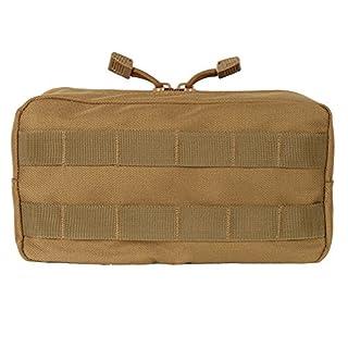 XIYAO Molle Horizontal Pouches,Compact Water-Resistant EDC Organizer Bag