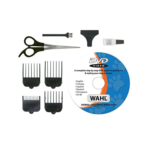 Wahl  9269-810 Multi Cut Mains Dog Clipper Set & Instructional DVD Blue / Yellow 3
