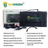 SUNKINGDOM 60W 18V Solar Ladegerät 2-Port