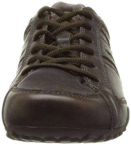 Geox U Snake F-Vit, Sneaker Uomo grigio (Dove Grey)