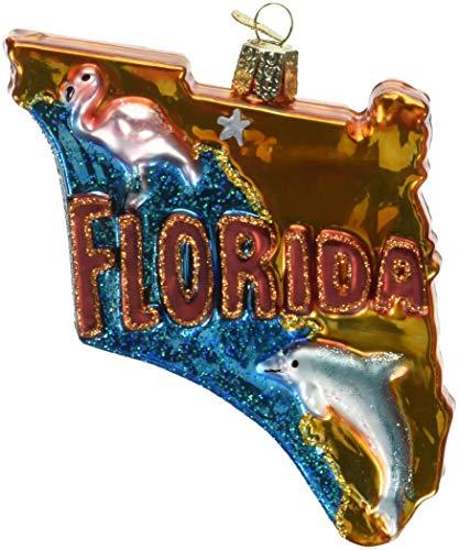 Old World Christmas Ornaments: Just Married Limo Glas geblasen Ornamente für Weihnachtsbaum Florida 4.000 Mehrfarbig (Christmas Haken Ornament)