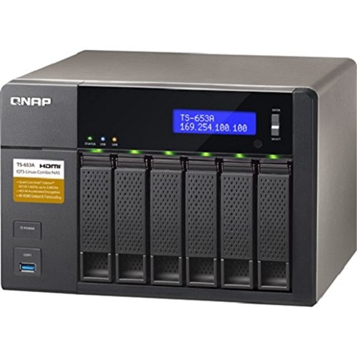 Best QNAP 24TB TS-653A-8G with 6 x Seagate ST4000VN008 Ironwolf HDD Bundle