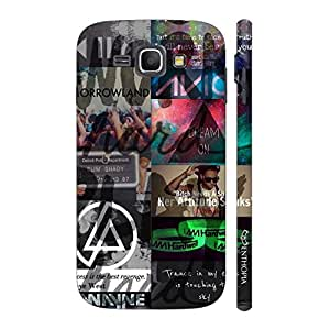 Enthopia Designer Hardshell Case For Music Lovers Back Cover for Samsung Galaxy J1 (2016)