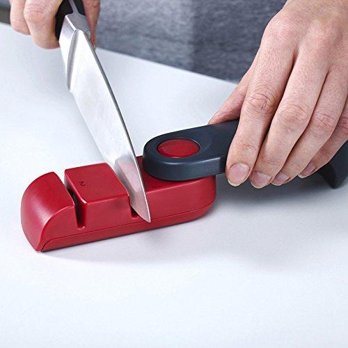 YPS Küche, die Faltung tragbare rutschfeste Keramikmesser Spitzer Stein Messerschleifer Rod Spitzer