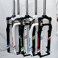 Horquilla eléctrica para bicicleta de 66 x 10 cm y eje de 135 mm, white