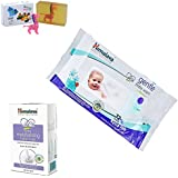 Himalaya Herbals Gentle Baby Wipes (72 Sheets)+Himalaya Gentle Baby Soap (125g) With Happy Baby Luxurious Kids Soap With Toy (100gm)
