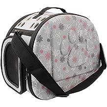 Transportín para mascotas de PUAO, goma EVA, portátil, plegable y cómodo, apto