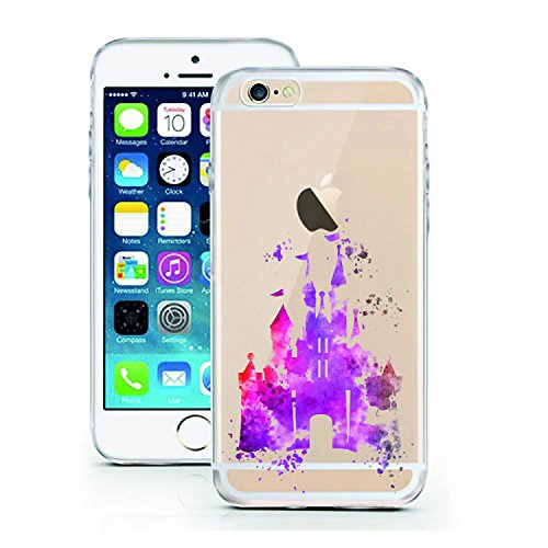 iPhone 5 5S se par licaso® pour le Apple iPhone 5 & 5S en TPU Coque en silicone Motif Design ultra fin Protège votre iPhone se & est élégant Case Coque bumper dans un..., Silicone TPU, Bambi Aquarell, Castle