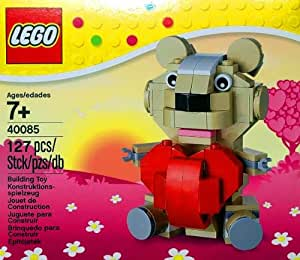 LEGO Stagionale: Valentine'd Day Teddy Bear Con Heart Set 40085