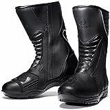 Agrius Oscar Motorcycle Boots 44 Black (UK 10)