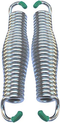 -Hängematte Stuhl Federn für Veranda Schaukeln und Hängesitze | 2Heavy Duty Federn 21,6cm faßförmiges ()