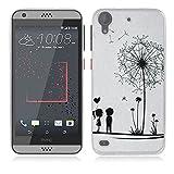 Coque HTC Desire 530, Fubaoda 3D Gaufrer Mode Modèle Étui TPU silicone élégant et...