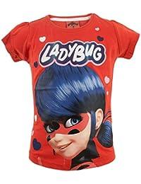 ab2a34f66 Miraculous LadyBug Cat Noir - T-Shirt Camiseta - para niña - 57IMFT