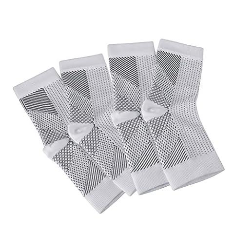 Chaussettes Fasciitis Plantaires (2 Paires)Soin des pieds Squelette de compression