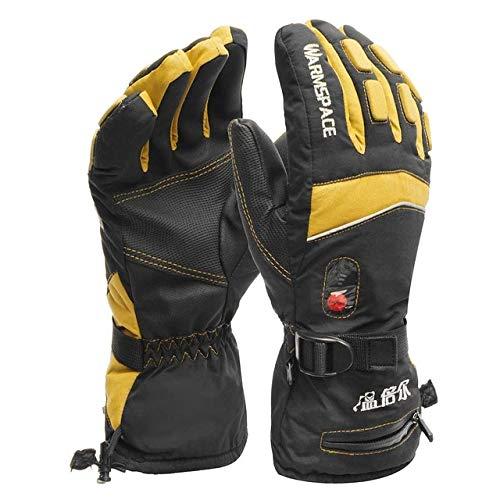 Berrd guanti riscaldati impermeabili alimentati a batteria per guanti da sci da ciclismo per motociclisti guanti motore per scaldini invernali - a2 x xl