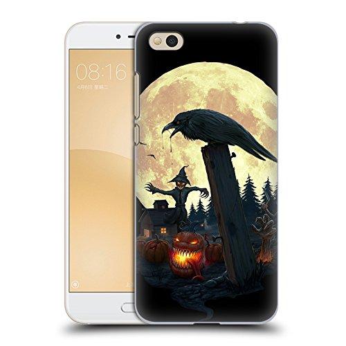 Karapanos Halloween Thema Horror 2 Ruckseite Hülle für Xiaomi Mi 5c (Halloween-horror-thema)