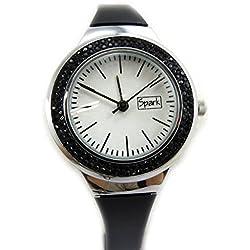 Dual watch 'Sissi' black.