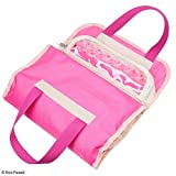 Fold out toy organizer storage bag for girls - Ideal for toys, accessories and collectibles, such as: Barbie, Disney, LOL, Shopkins - Also great for arts & crafts, cupcake decorations, make-up, etc.