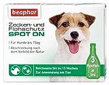 Beaphar - Bio Spot On Tropfen für Hunde bis 15 kg