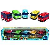 Little Bus TAYO Toy 5 pcs (Tayo + Rogi + Gani + Rani + Citu) Bus Animation