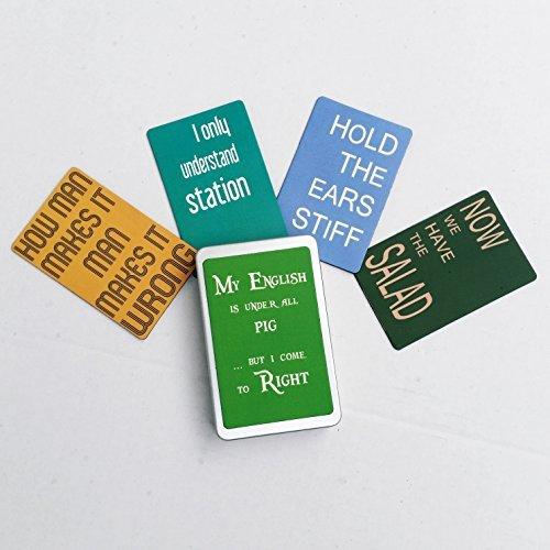 """Geschenkdose mit 5 Magneten / Kühlschrankmagneten Nr1 - FREI WÄHLBAR (SIEHE BESCHREIBUNG) ODER WIE ABGEBILDET aus der Serie """"Engleutsch for Oncatcher"""" von tom bäcker +++ Zigaretten-Dose +++ Etui"""