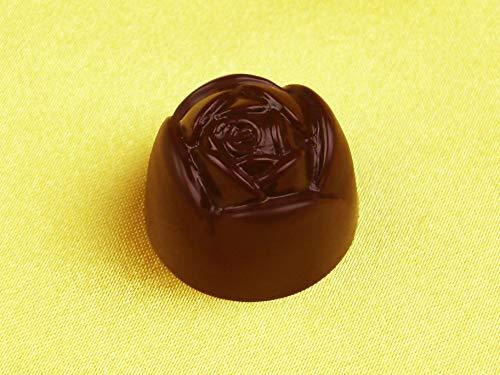 Pati-Versand 10630 Schokoladenform Rose Kunststoff-Form zum Gießen von Hohlkörpern