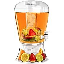 Bar@Drinkstuff - El despachador de hielo bebidas cerveza 10 | dispensador de la bebida, dispensador de jugo, bebidas torre, punch dispensador, dispensador de limonada, infusión de frutas