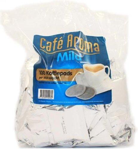 Café Aroma Mild 100 Kaffeepads Megabeutel