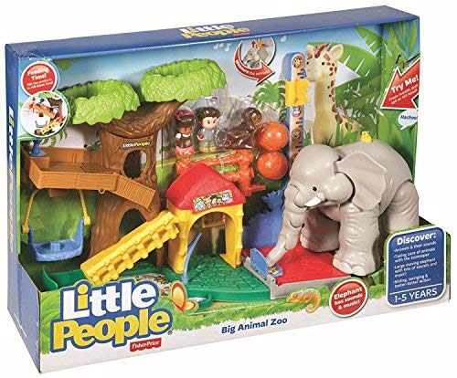 Mattel CHF55 - Fisher-Price Little People Maxi-Tierwelt Zoo