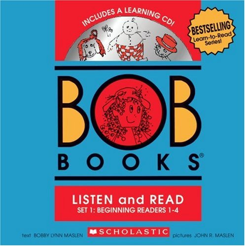 vel 1-4 (Bob Books Set 1) (Scholastic Level 1 Set)