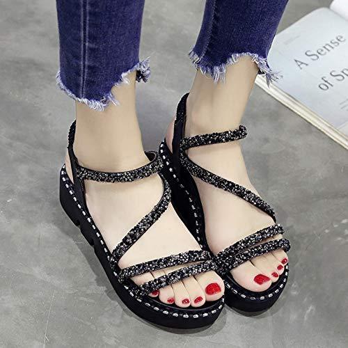 Shukun Sandalen für Damen Sandalen Weiblichen Sommer