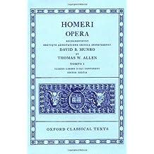 Homer Vol. I. Iliadis (Books I-XII) (Oxford Classical Texts)