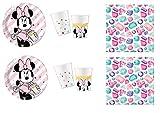 Minnie Party Gem Premium Minnie Disney Juego de decoración de Fi