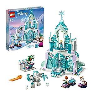 LEGO Disney Princess - Palacio mágico de hielo de Elsa, Castillo de Princesas de Juguete para construir, Novedad 2019 (43172)