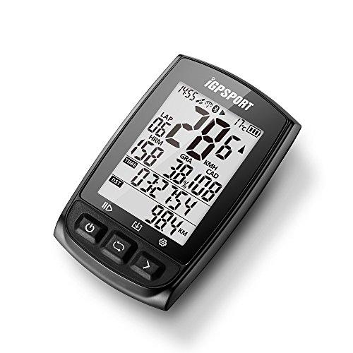 51sEa9XvgzL. SS500  - IGPSPORT GPS Bike Computer iGS50E Wireless Cycle Computer Waterproof Compatible Speed Cadence Heart rate Sensor (Not…