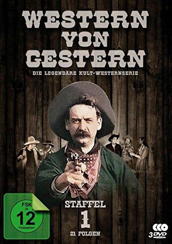 Western von Gestern - Staffel 1 (21 Folgen) (Fernsehjuwelen) [3 DVDs] - Western Cover