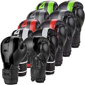 LNX Boxhandschuhe Stealth - Männer Frauen 8 10 12 14 16 Oz - ideal für...