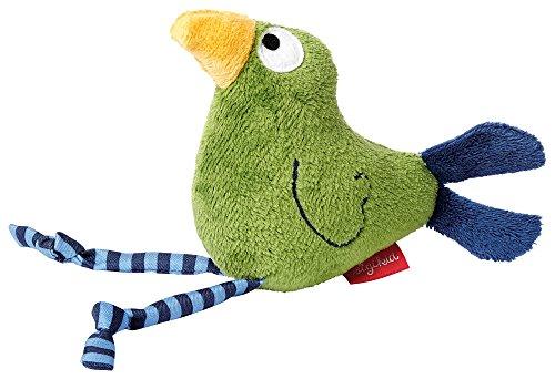 sigikid, Mädchen und Jungen, Greifling Vogel mit Quietsche, Quietsch Quatsch, Grün, 41043