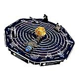 Baoblaze Papel Modelo para Ensamblaje DIY Bricolaje Regalo Niño Puzzle Game - Sistema Solar