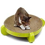 HOUYAZHAN Cat Scratcher Refill Lounge Wellpappe Katzenkratzbrett Cat Bed Red Dot...