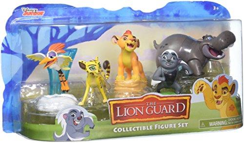 JP Lion Guard - Juego de Figuras coleccionables, 5 Unidades