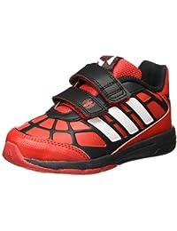 Adidas Disney Spider-Man CF I, Zapatos de Primeros Pasos Unisex Bebé, Rojo/Blanco/Negro (Rojint/Ftwbla/Negbas), 22