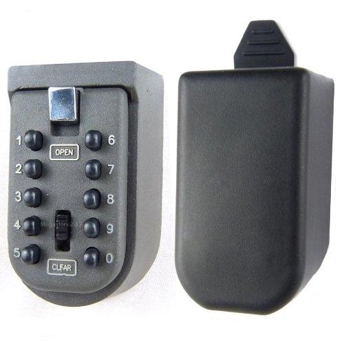 Innen und Außen wandmontiertes Sicherheitsschloss, Knopfdruck Zahlenschloss, Wandmontierte Sicherheitsschloss, für Pfleger/Home Hilfe/Pflegekraft