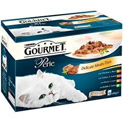 Purina Gourmet Perle Wet Cat Food Mini Fillets in Gravy