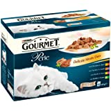 Purina Gourmet Perle Wet Cat Food Mini Fillets in Gravy, 48 x 85 g - Delicate Meats