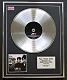 Everythingcollectible U2/Limitierte Edition Platin Schallplatte/18 Singles