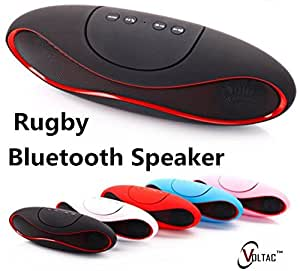 VOLTAC` ™ Mini Rugby Style Bluetooth Speaker New Arrival. Pattern #191342