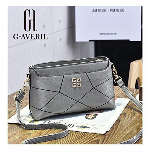 G-AVERIL, Borsa a mano uomo Nero Black Grey